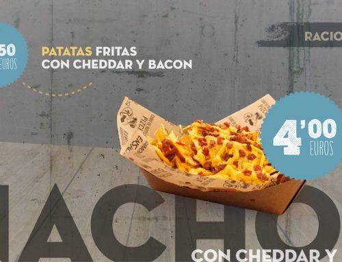 Oferta Nachos con Cheddar y Bacon